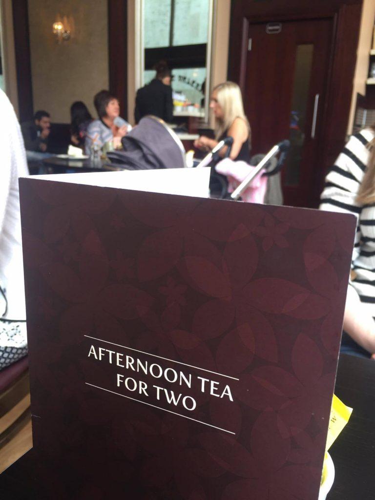 Afternoon Tea Patisserie Valerie Belfast