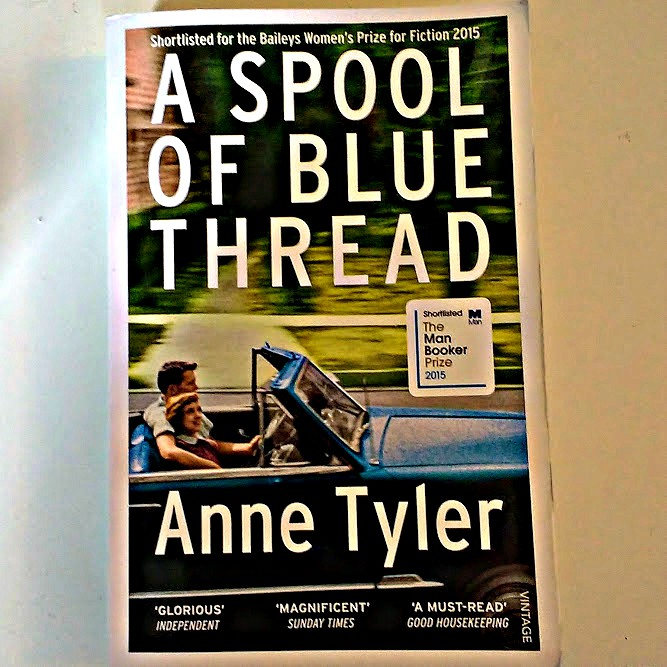 book review anne tyler a spool of blue thread