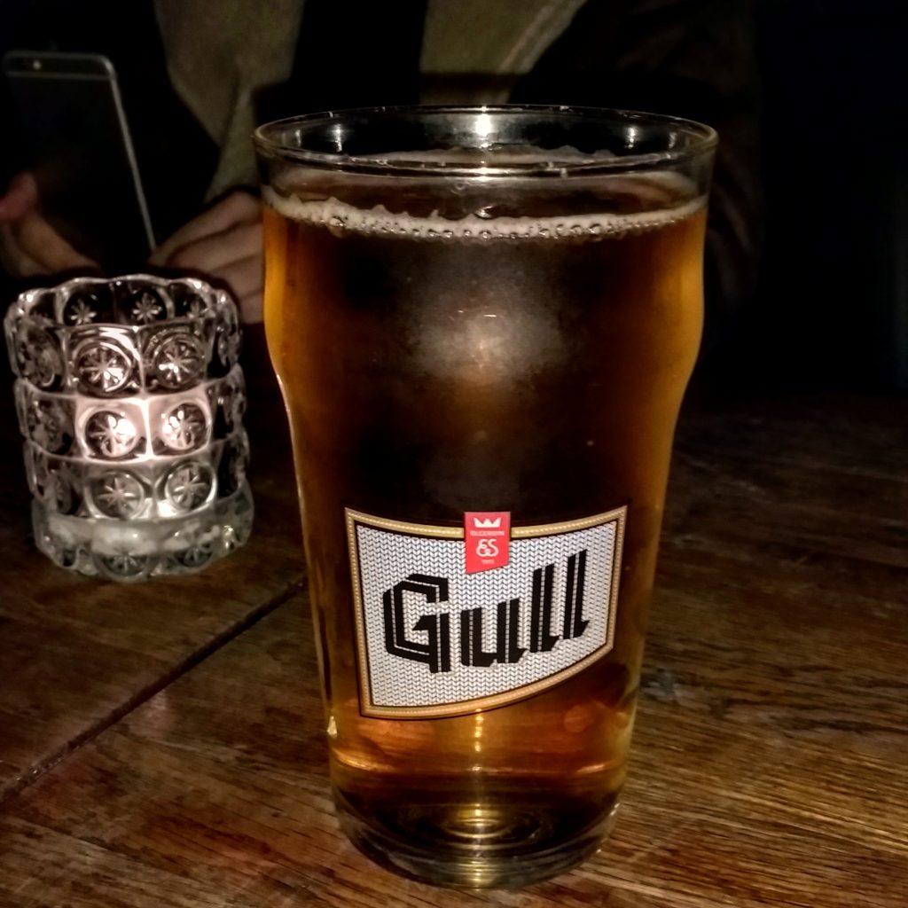 Reykjavik Gull Beer Lebowski Bar