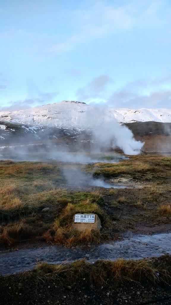 Haetta Geyser Iceland