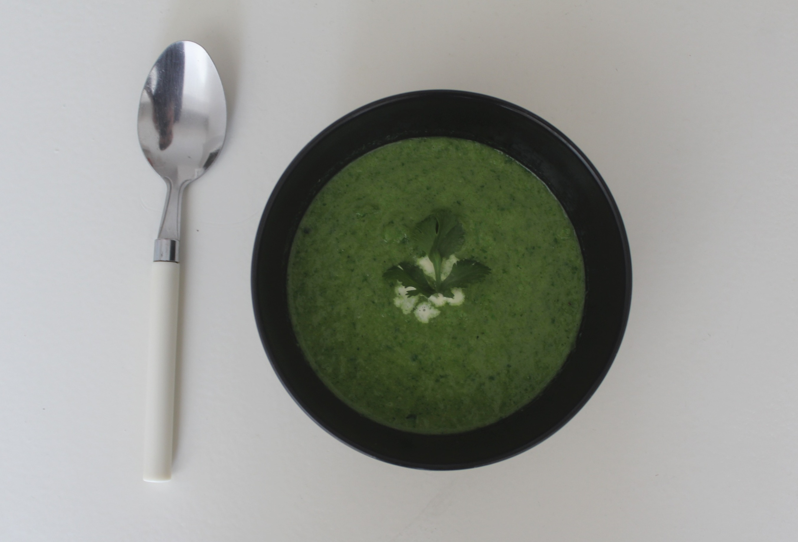 Broccoli and Spinach Soup Recipe