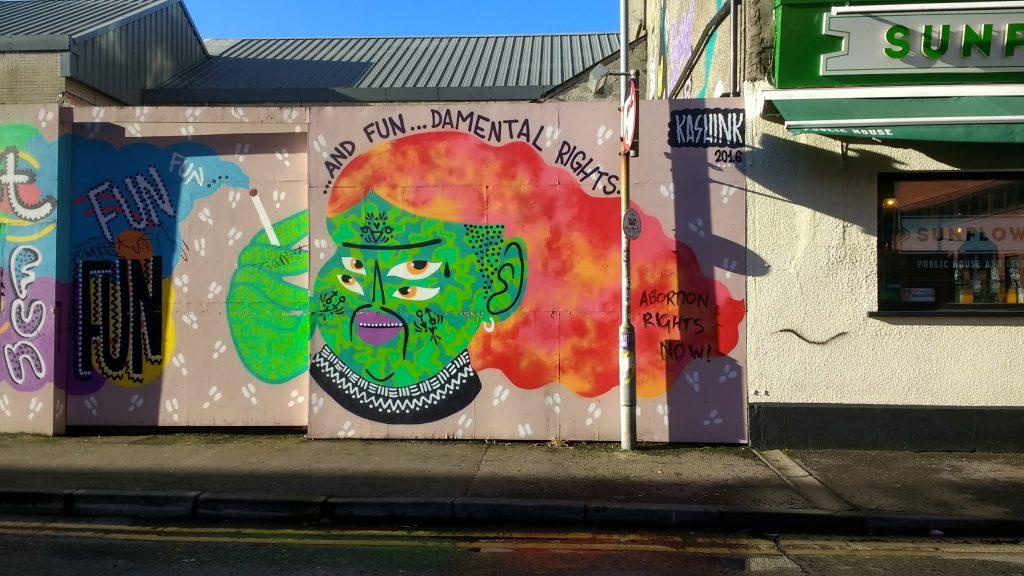Kashink Belfast Street Art